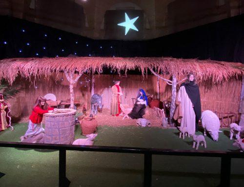 Kerststal Agatha kerk Beverwijk