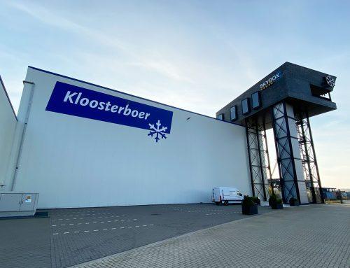 Licht, geluid en video in de Kloosterboer Skybox