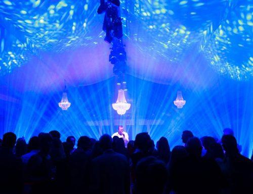 Licht, geluid en beeld voor een privéfeest